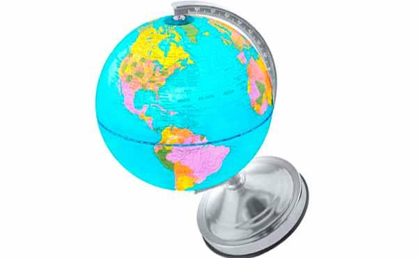 подарок на день рождения - глобус