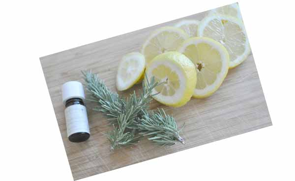 Лимон, розмарин и лаванда - своими руками подруге