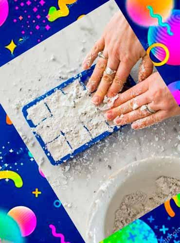 Бомбочки для ванны - что сделать маме своими руками 4а