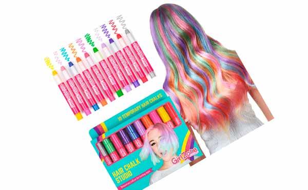 Мелки для волос на день рождения на 9 лет девочке