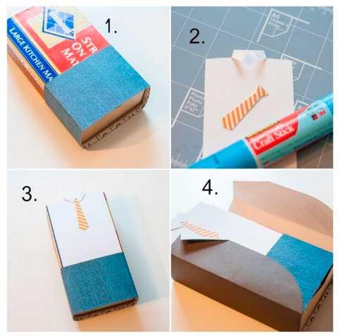 Подарочная коробка для мужчин, инструкции