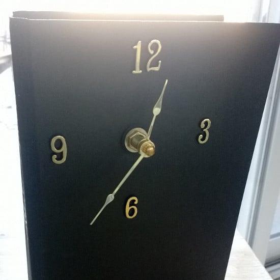 Подарок мужчине на день рождения - самодельные часы 8