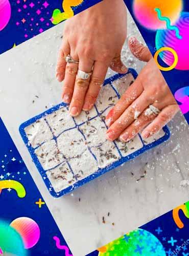 Бомбочки для ванны - что сделать маме своими руками 4б