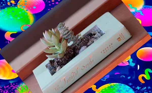 Цветочный горшок в подарок маме 5