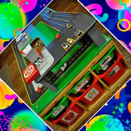 Столик для машин в подарок мальчику на 3 года