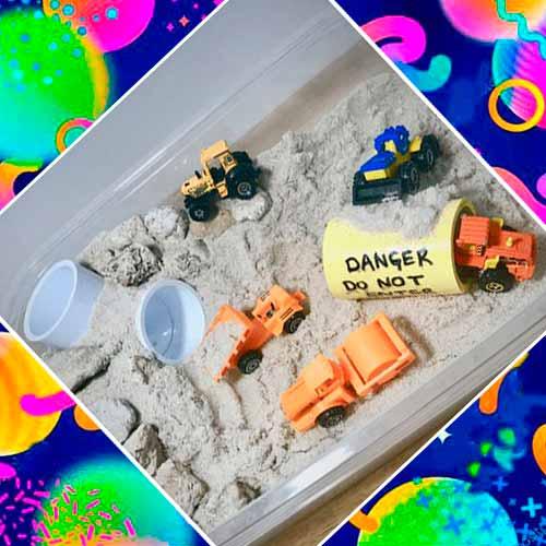 Песочница в подарок мальчику на 3 года