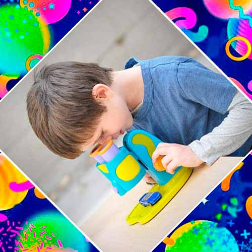 Микроскоп в подарок на день рождения мальчику