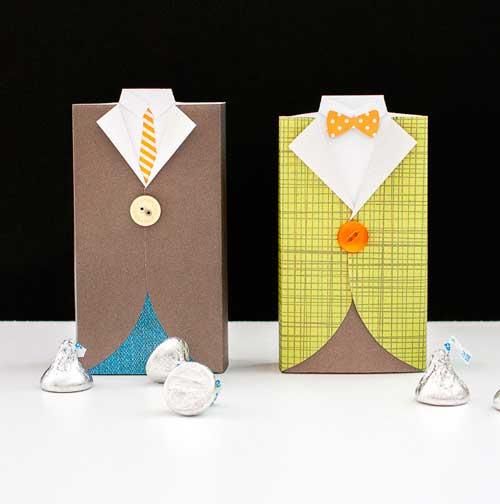 Подарочная коробка для мужчин с конфетами
