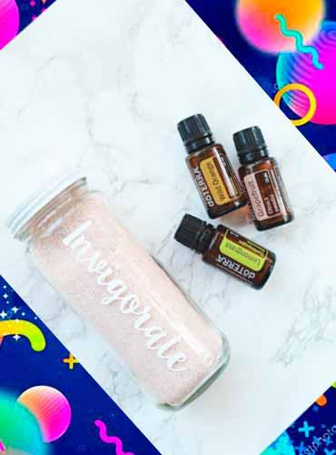 Соль для ванны в подарок своими руками 1