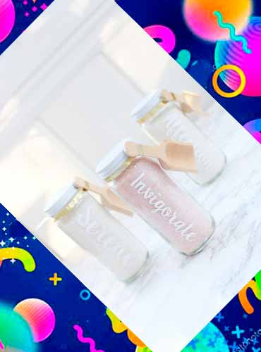 Соль для ванны в подарок своими руками 7