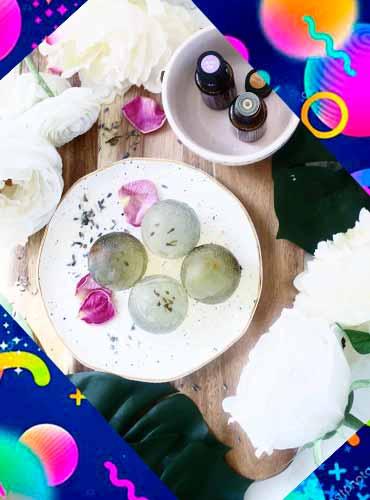 Цветочное мыло в подарок