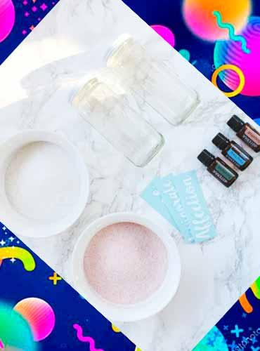 Соль для ванны в подарок своими руками 8