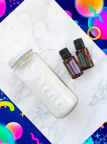 Соль для ванны в подарок своими руками 5
