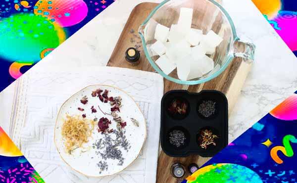 Цветочное мыло в подарок 2