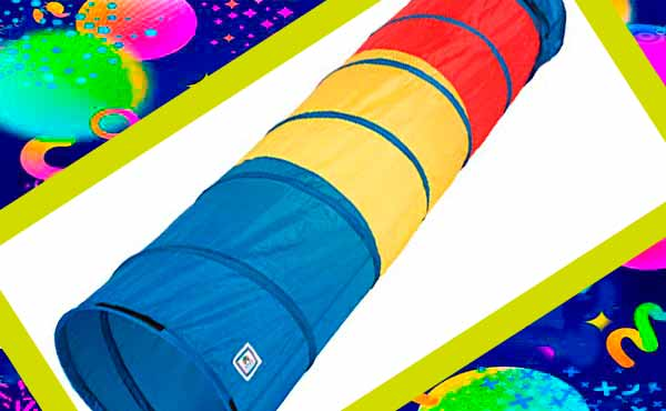 Подарок мальчику - многоцветный туннель
