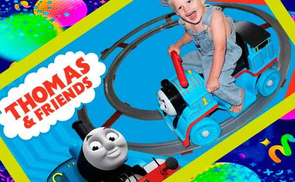 Паровозик Томас с железной дорогой