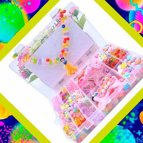 Набор для создания украшений в подарок на 8 лет девочке