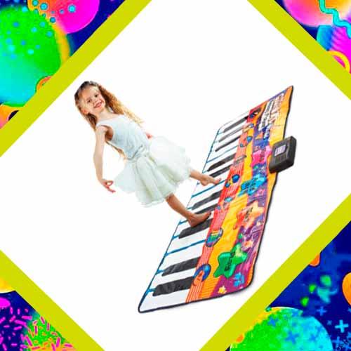 Музыкальный коврик в подарок девочке на день рождения
