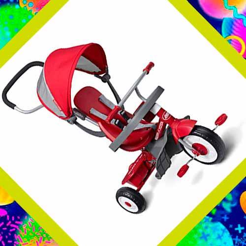 Трансформер коляска велосипед в подарок мальчику на 2 года