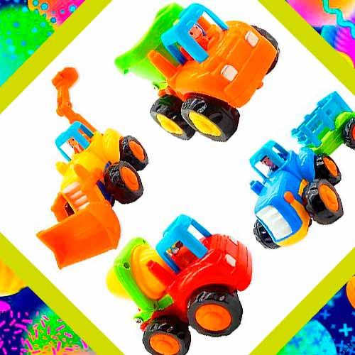 Машины и грузовики - подарок для 2-летнего мальчика