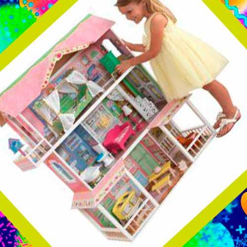 Кукольный Домик в подарок на день рождения на 5 лет