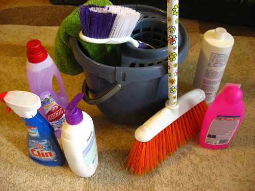 как навести порядок в доме с чего начать