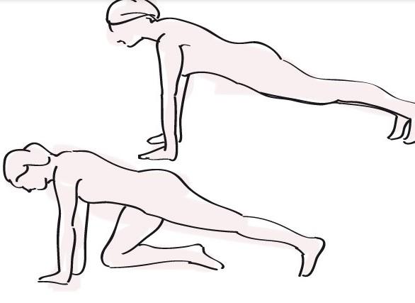 Упражнения для похудения дома на прямые и косые мышцы живота и руки
